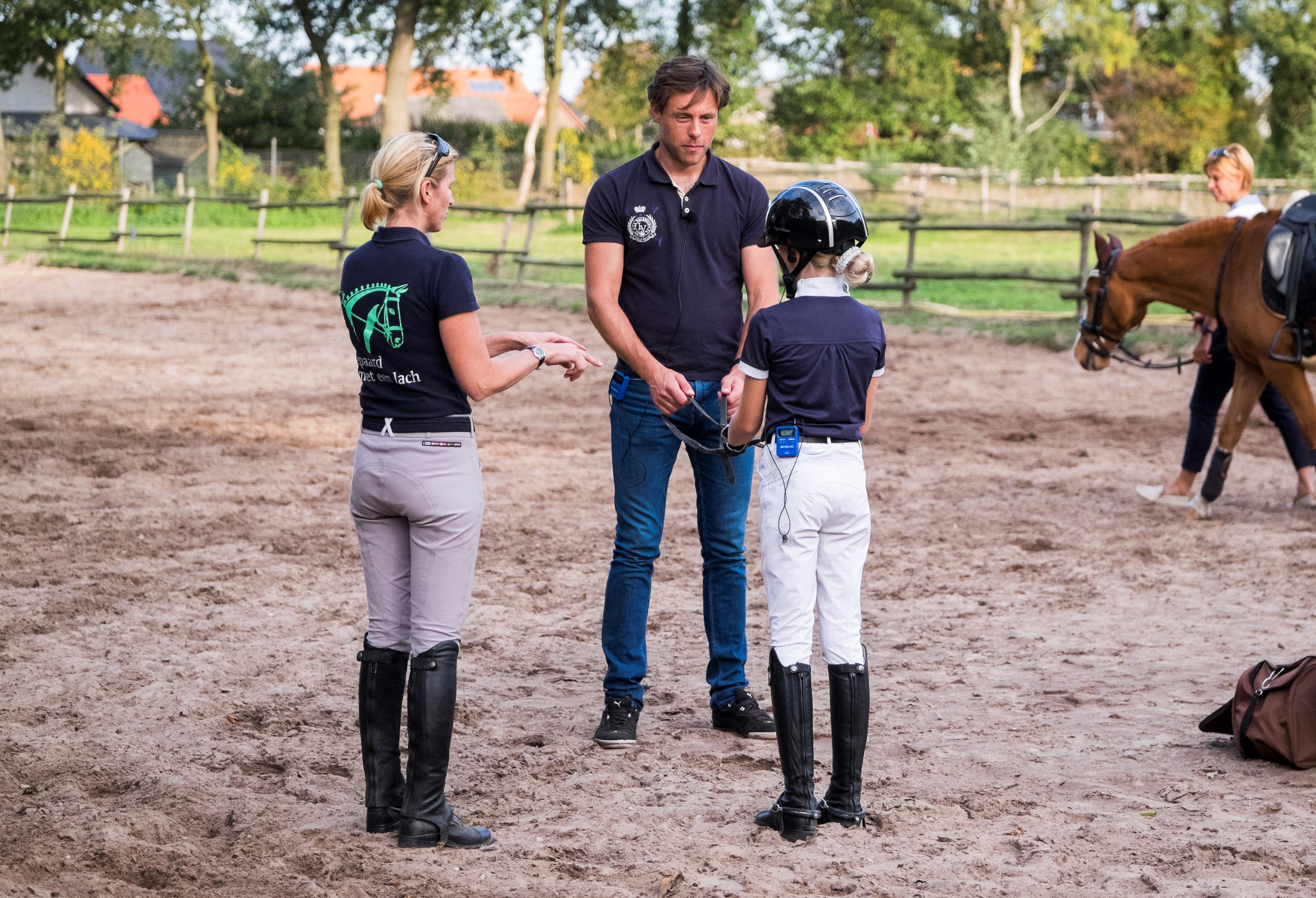 Clinics Laurens van Lieren en Roos Dyson: Working together in balance