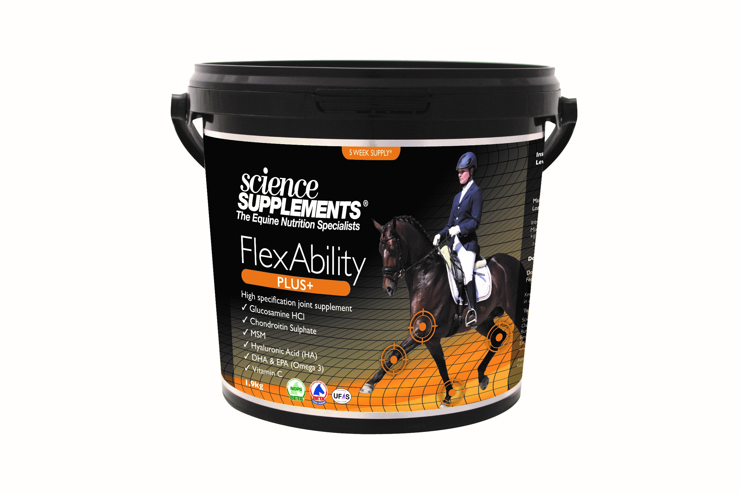 FlexAbility Plus+, Science Supplements